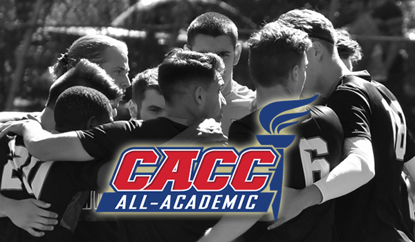 Three Wildcats Honored on 2016 CACC Men's Soccer All-Academic Team
