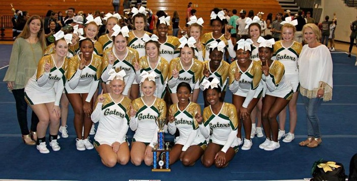 Ware Competition Cheerleading Team Finishes Strong