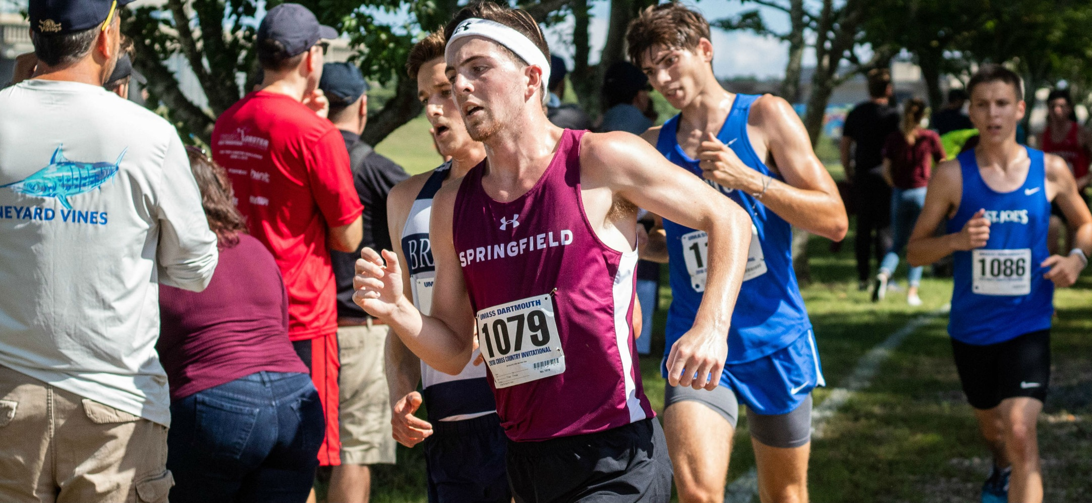 Men's Cross Country Races at Connecticut College Invitational