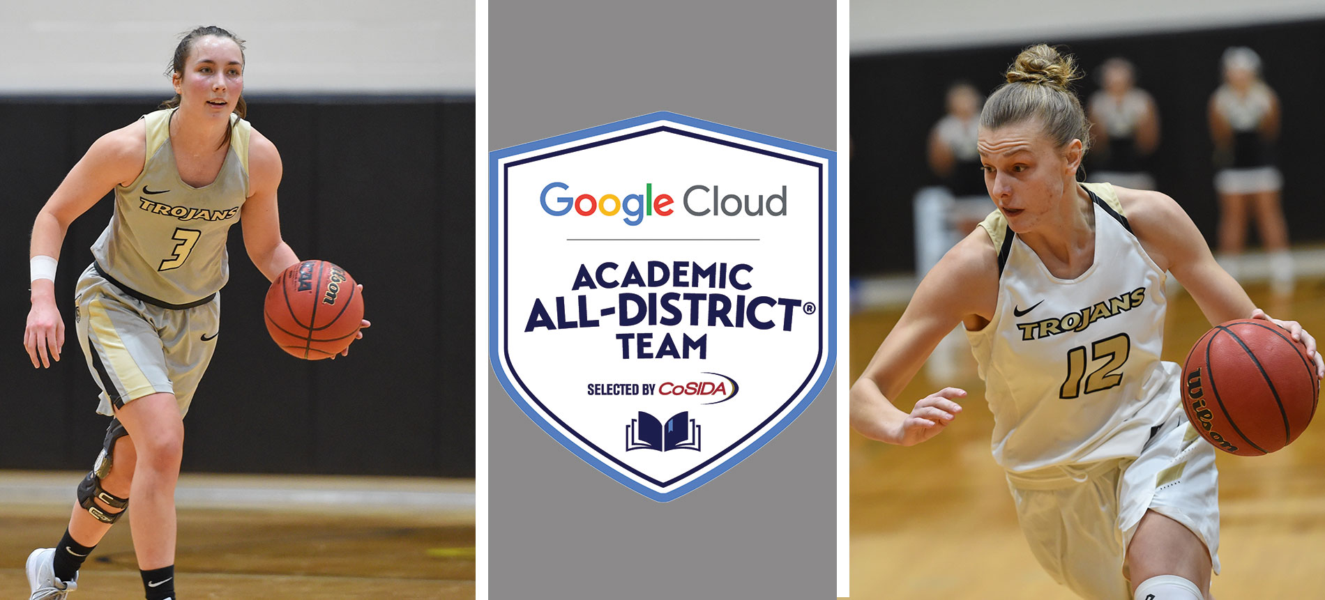 Ketchum and Mollenhauer Named First-Team Academic All-District