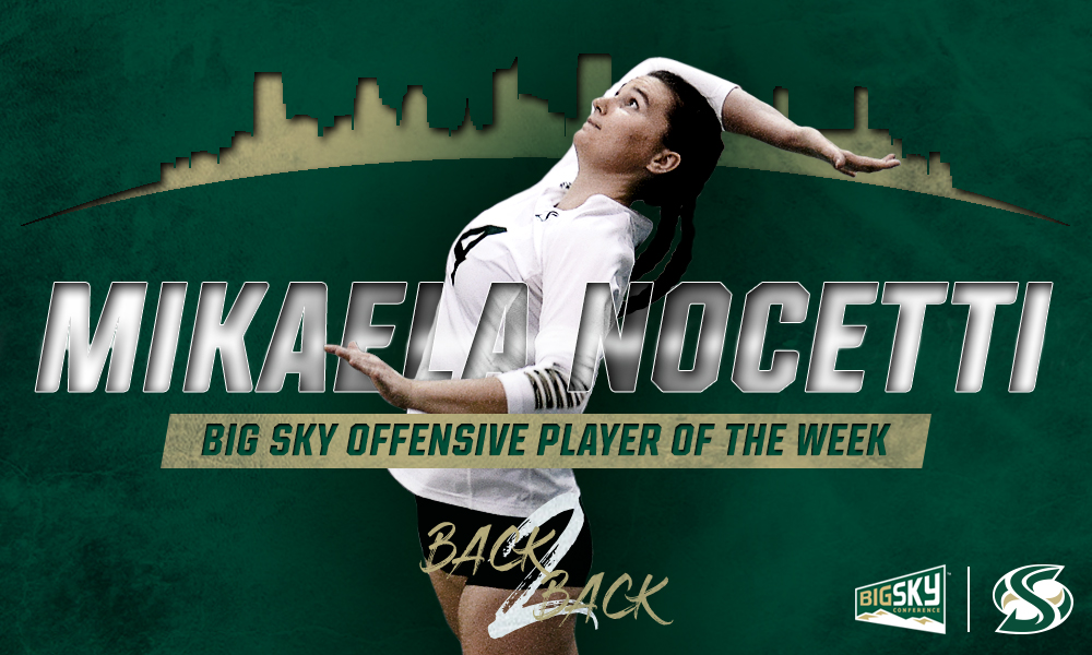 TWO STRAIGHT WEEKS! NOCETTI NAMED BIG SKY PLAYER OF THE WEEK AGAIN