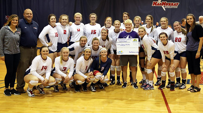 MacMurray Raises Over $1,200 For Cystic Fibrosis