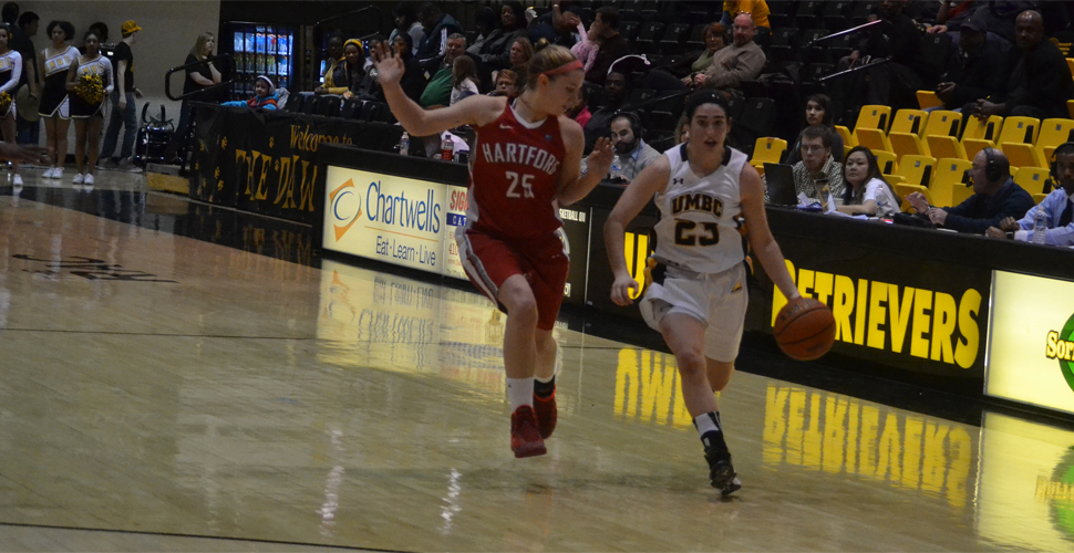 Women's Basketball Held Off by Hartford, 65-55