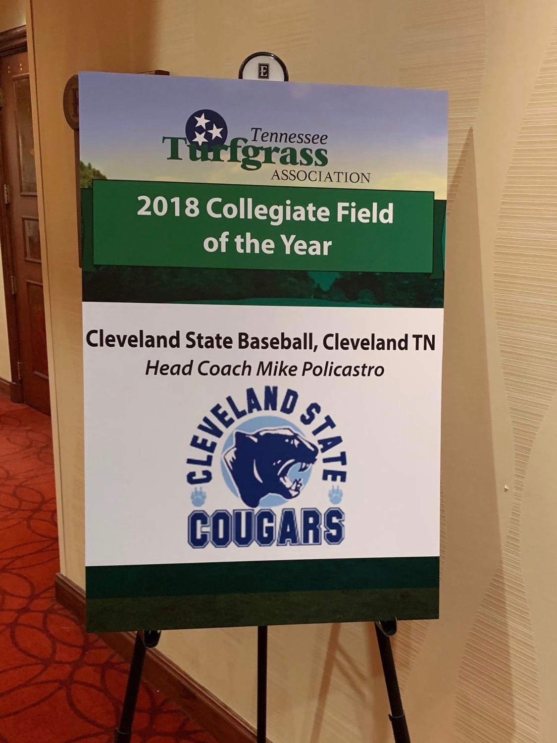 Cougar Field Named Collegiate Field of the Year