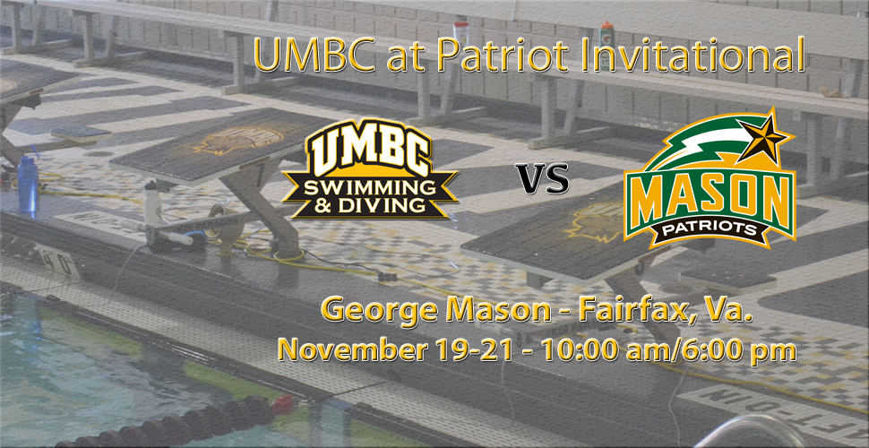 Swimming and Diving Heads to Patriot Invitational This Weekend