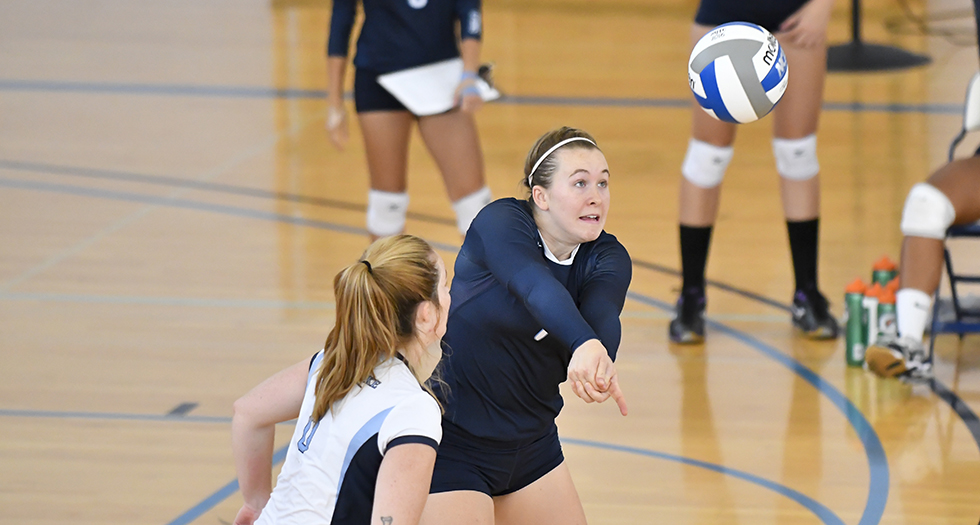 Lyons Volleyball Falls 3-0 to Coast Guard