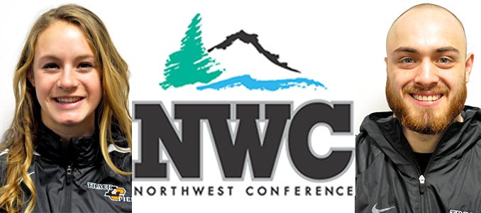 Thompson, Mock earn NWC First-Team Scholar-Athlete honors