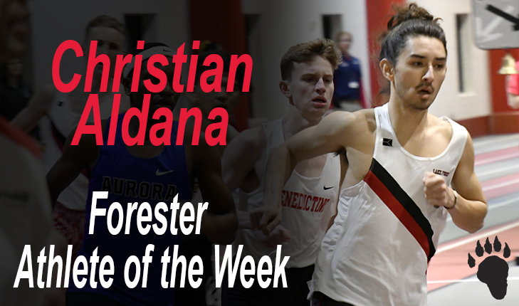 Christian Aldana Named Forester Athlete of the Week