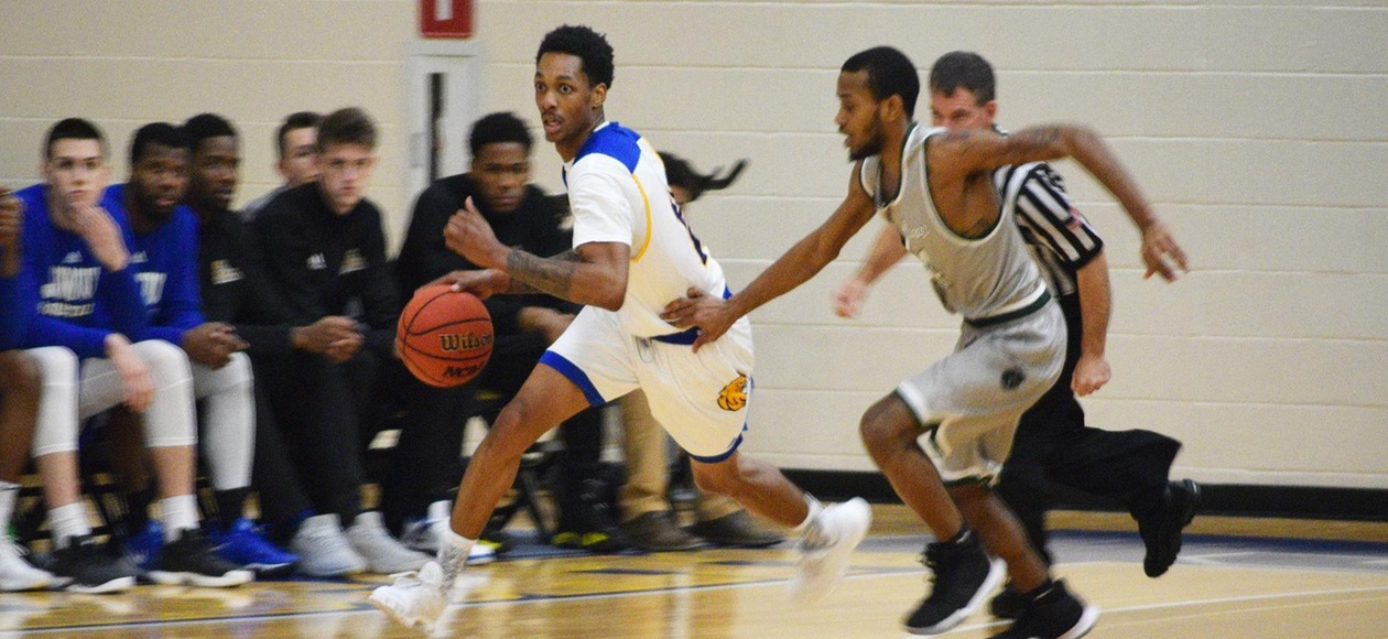 Third-Ranked Hamilton Too Much for JWU Men's Basketball 91-71