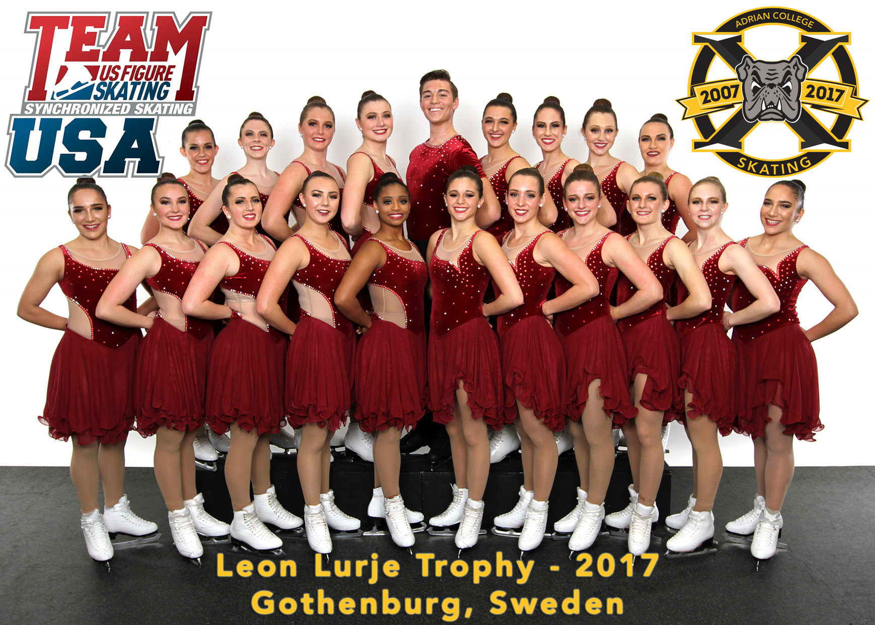 @AdrianVSST Senior Team Selected To Represent Team USA In Sweden for January International Competition