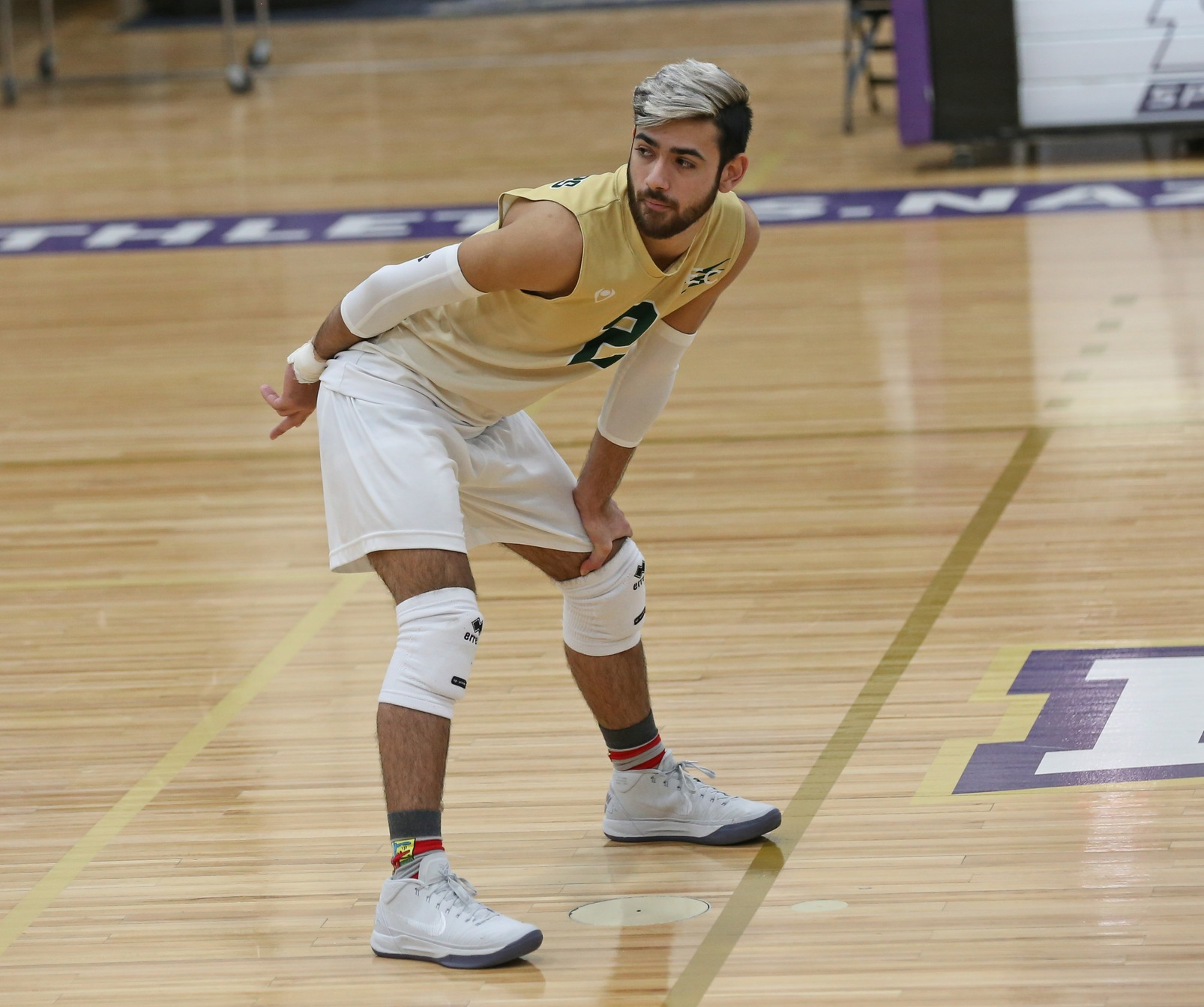 #7 Men's Volleyball Sweeps Past Southern Vermont College