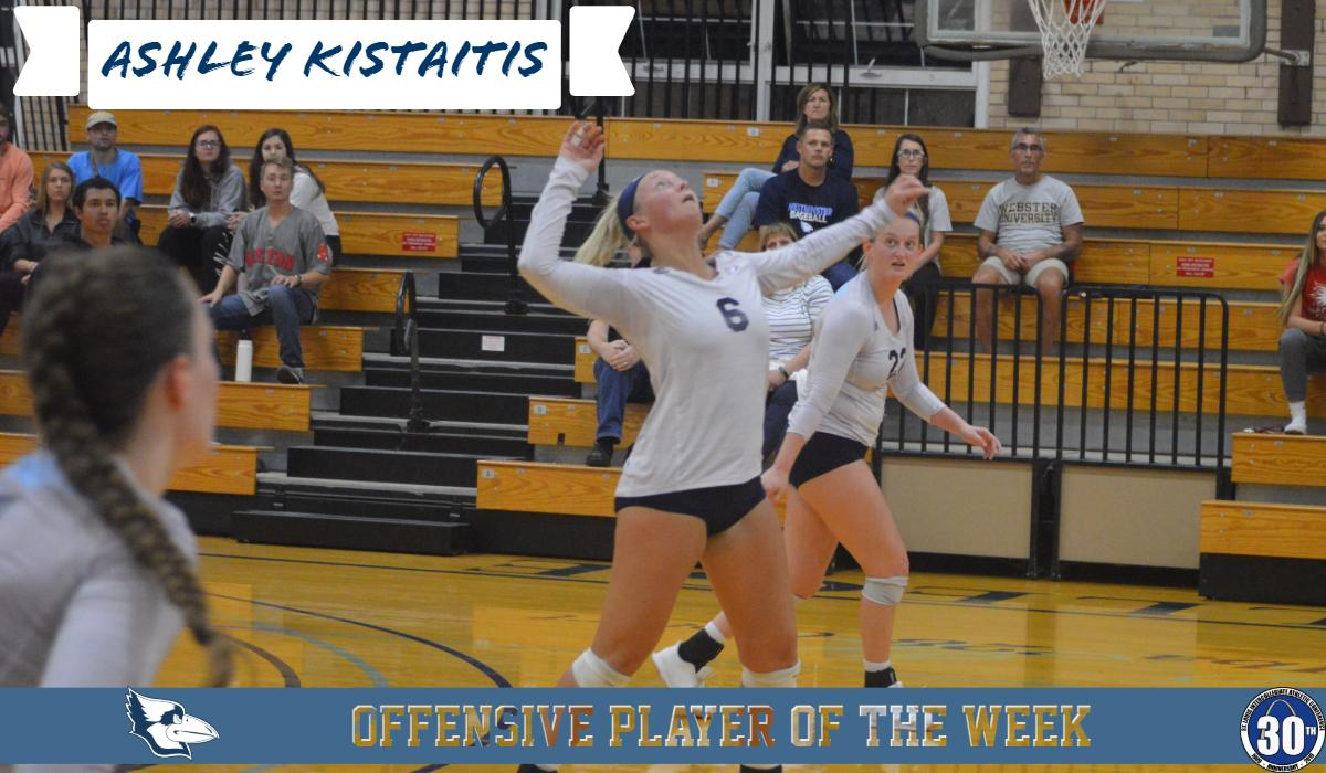 Kistaitis Named SLIAC Offensive Player of the Week