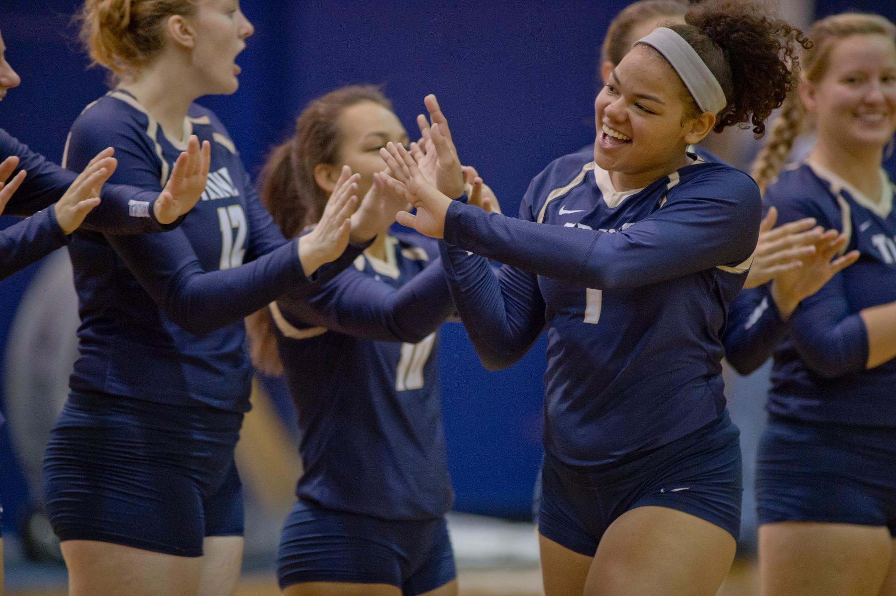 Thunder Volleyball Team Announces 2017 Schedule