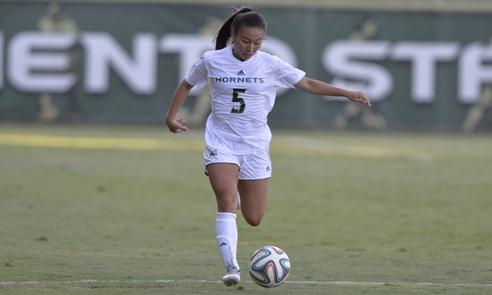 KIM-BUSTILLOS NAMED BIG SKY WOMEN'S SOCCER OFFENSIVE PLAYER OF THE WEEK