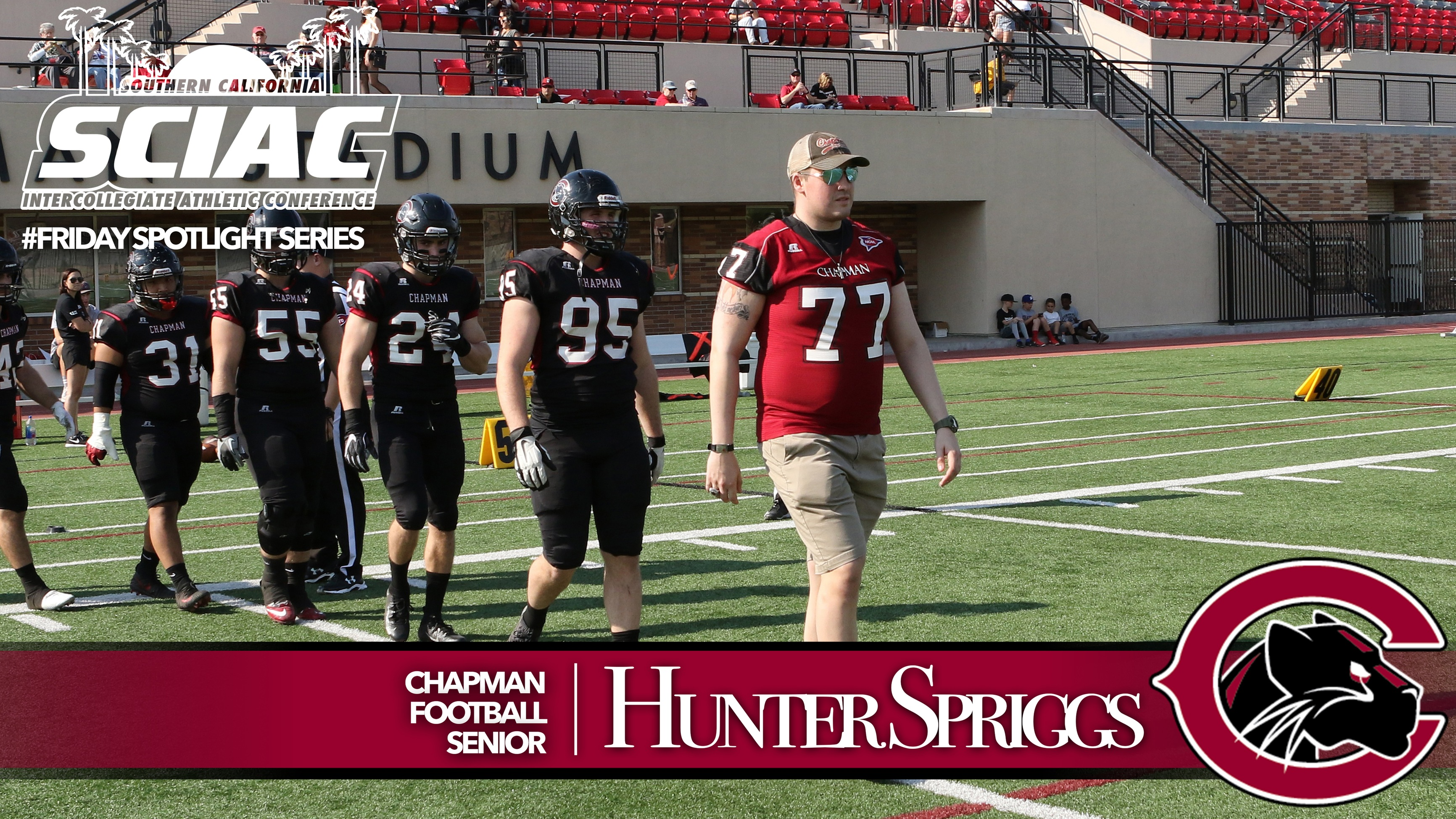 Meet Hunter Spriggs - Chapman Football
