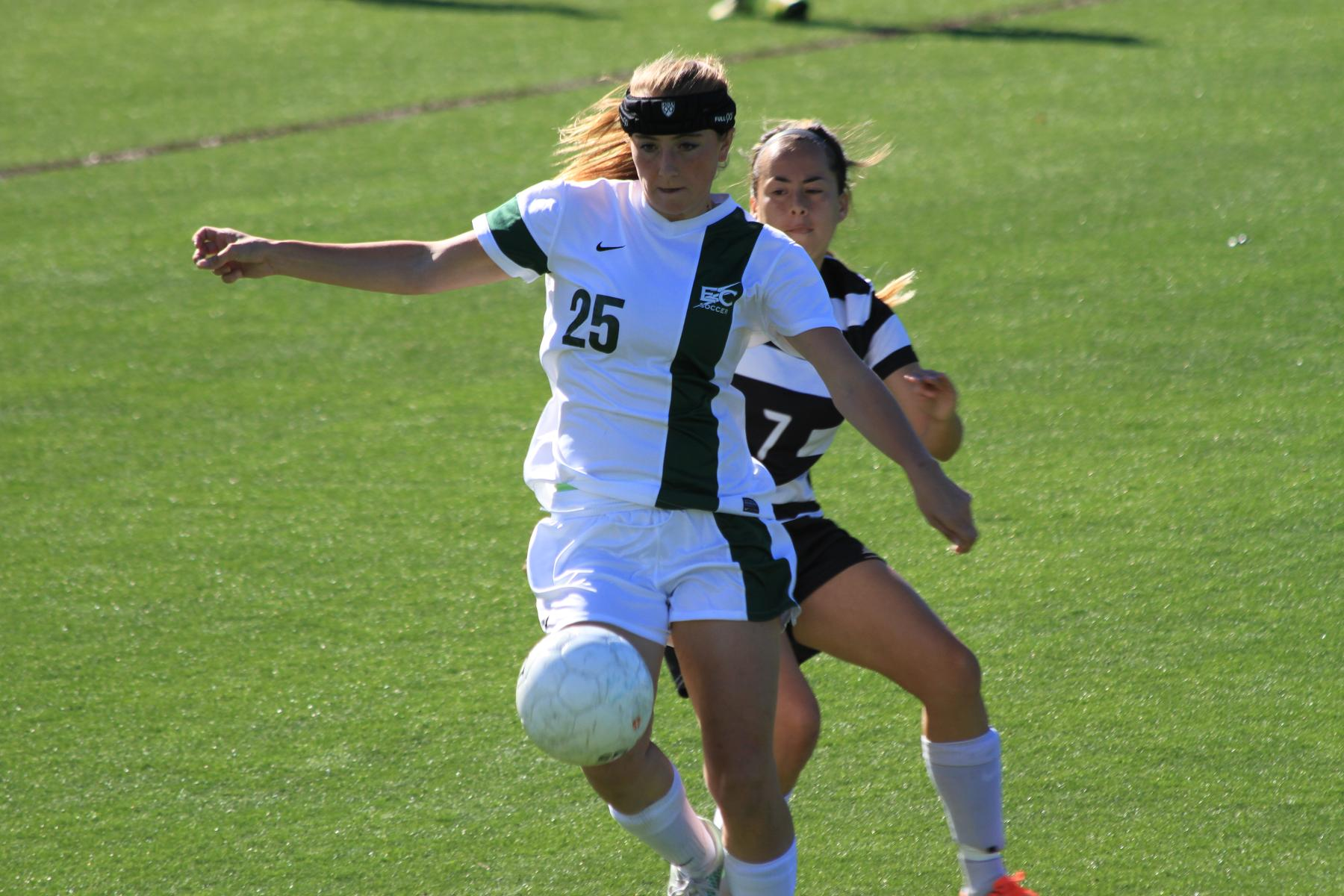Shea's OT Header Lifts Women's Soccer Over New England College