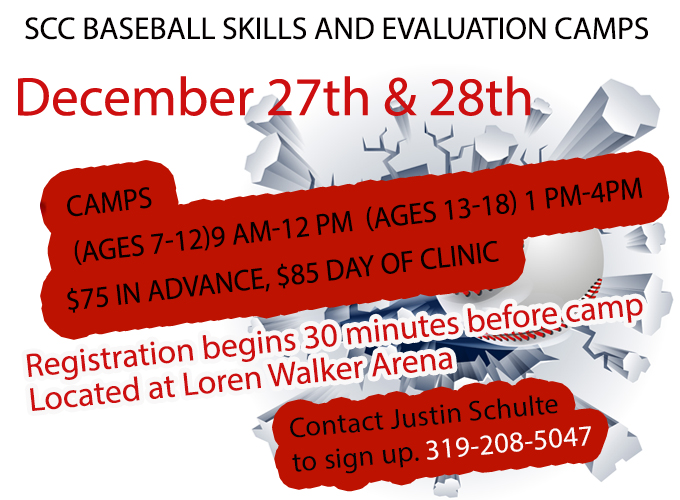 Baseball to Hold Winter Break Skills & Evaluation Camps