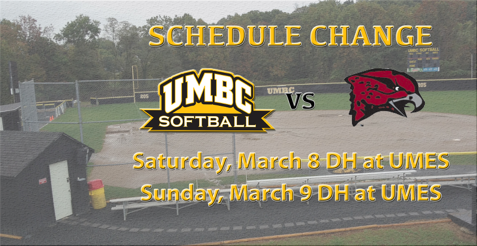 UMBC Makes Weekend Trip to UMES; Schedule Update