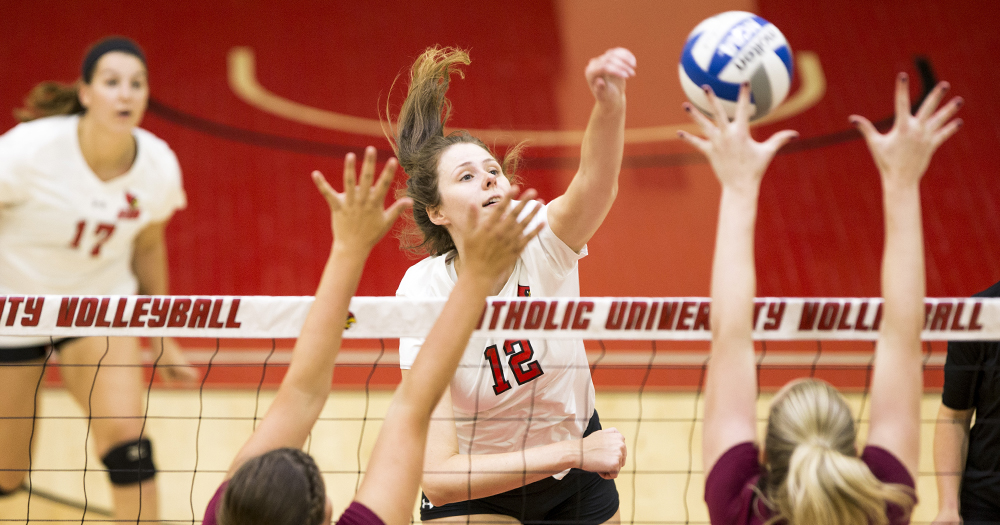 Catholic Downs Frostburg in Five Set Battle