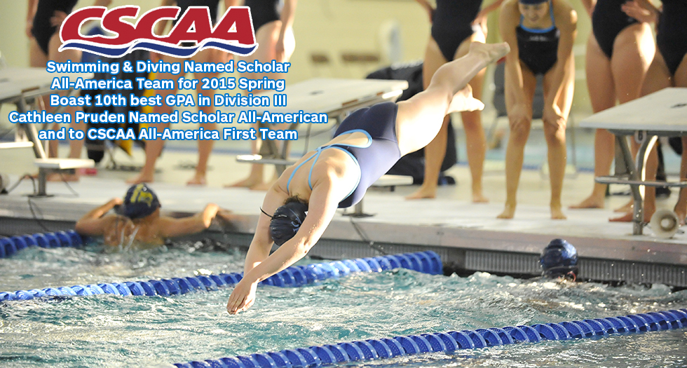 Swimming & Diving Earns CSCAA Academic Accolades