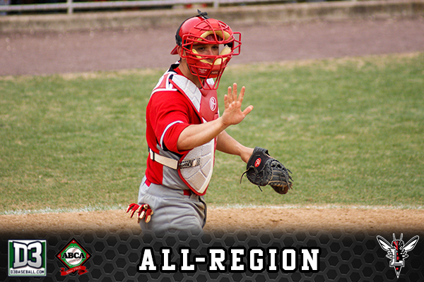 Hylton Recognized As D3Baseball and ABCA/Rawlings All-South Region