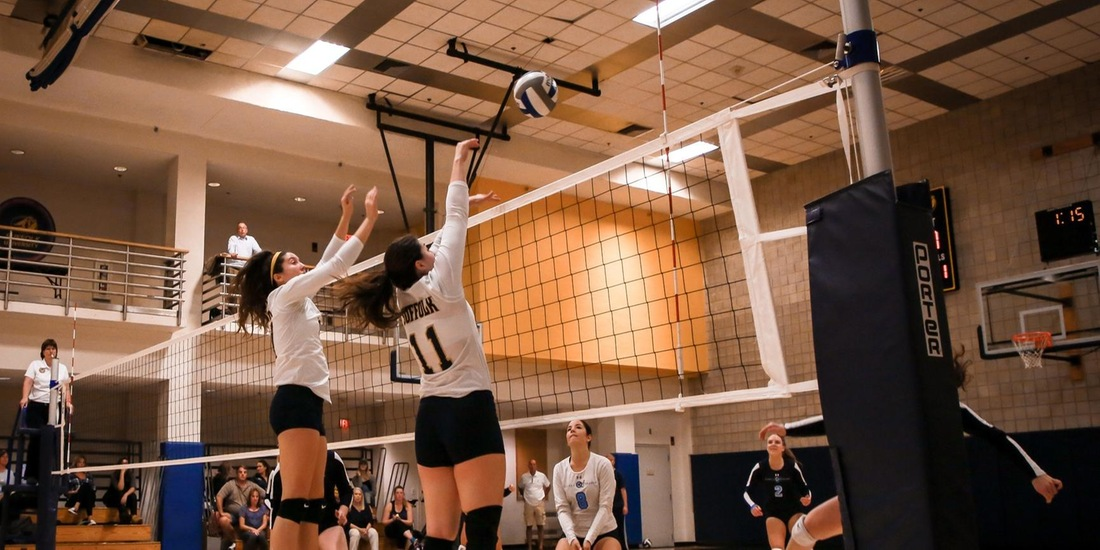 Volleyball Heads North For Tri-Match at St. Joe's