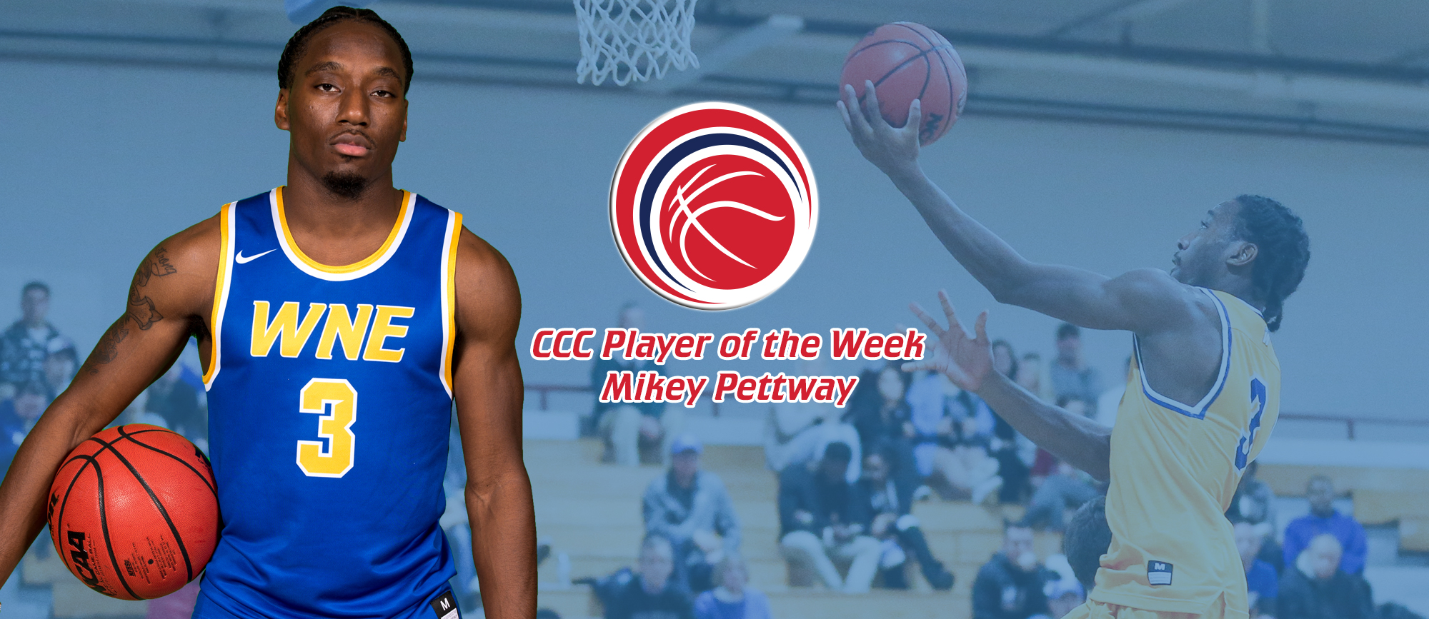 Mikey Pettway Earns First Career CCC Player of the Week Award