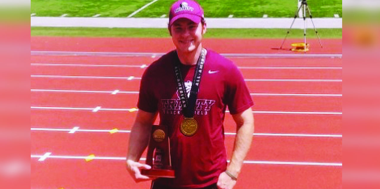 Trinity's Love Earns All-America Finish at NCAA Track & Field Championships