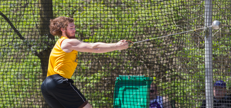 Senior All-OAC thrower Zak Dysert