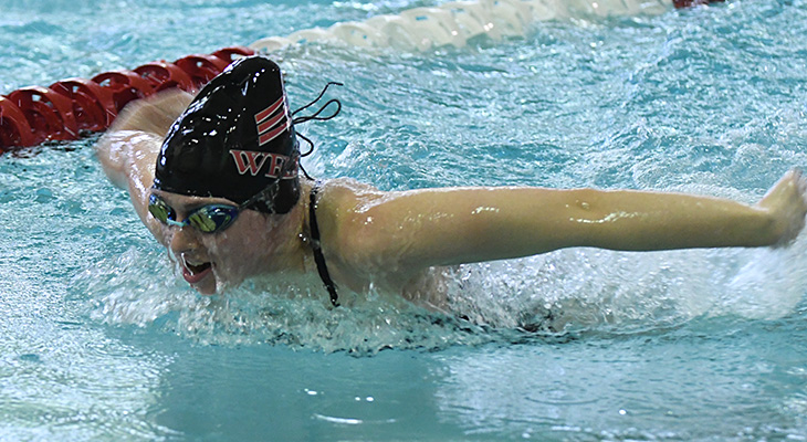 Three Event Wins For Women's Swimming