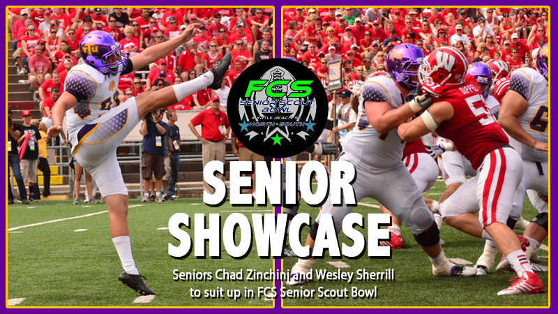 Zinchini, Sherrill to suit up in 2013 FCS Senior Scout Bowl Saturday