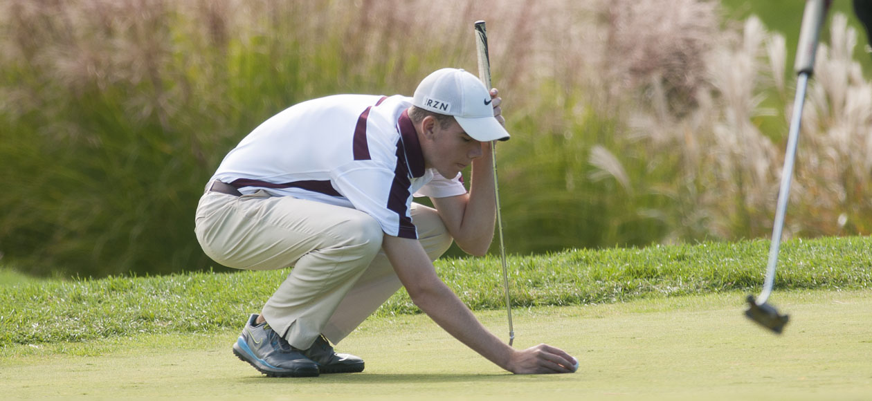 Golf Sits In Second After Opening Day of NECC Championships