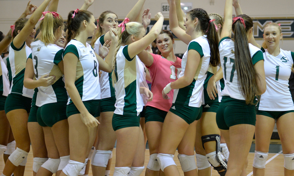 VOLLEYBALL CRUSHES NORTHERN ARIZONA, NOW ONE GAME BACK OF FIRST PLACE