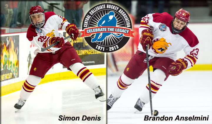 Two Bulldog Defensemen Claim CCHA Weekly Accolades