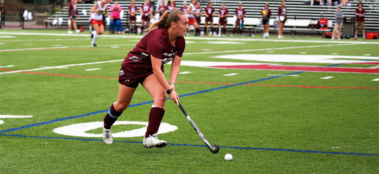 Field Hockey Rebounds With 10-3 Win Over Husson; Nusbaum Sets Career Assists Record