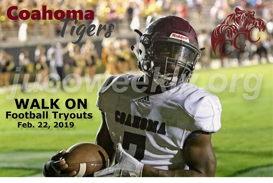 Coahoma Community College to hold football tryouts