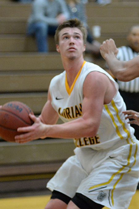 Justin Webster, Adrian, Men's Basketball Player of the Week 12/11/17