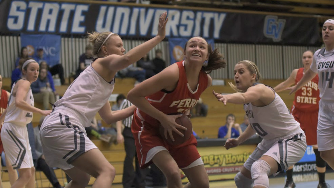Bulldog Women Suffer Setback In West Michigan Rivalry Game At GVSU