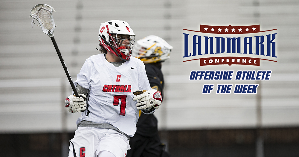 Silverman Earns Landmark Offensive Athlete of the Week Award