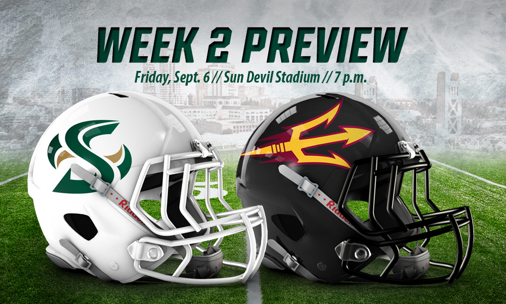 FOOTBALL TRAVELS TO ARIZONA STATE FOR FRIDAY NIGHT GAME