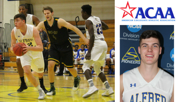 Tyler Elliott named to All-ACAA Academic Team