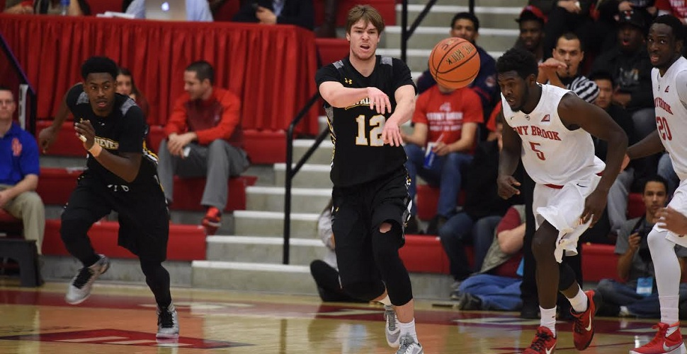 Men's Basketball Makes First New York Trip of AE Campaign as Retrievers Visit Stony Brook on Wednesday