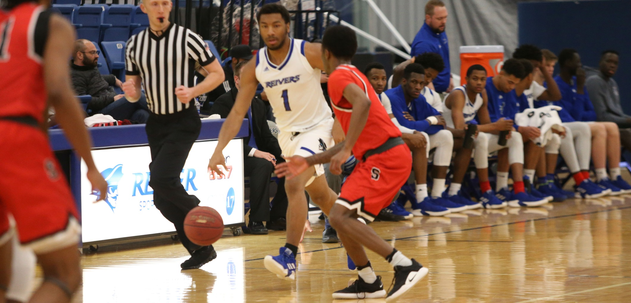 Willard Anderson and his Iowa Western teammates lost to the visiting Blackhawks of Southeastern Wednesday evening (1/30/19) at Reiver Arena.