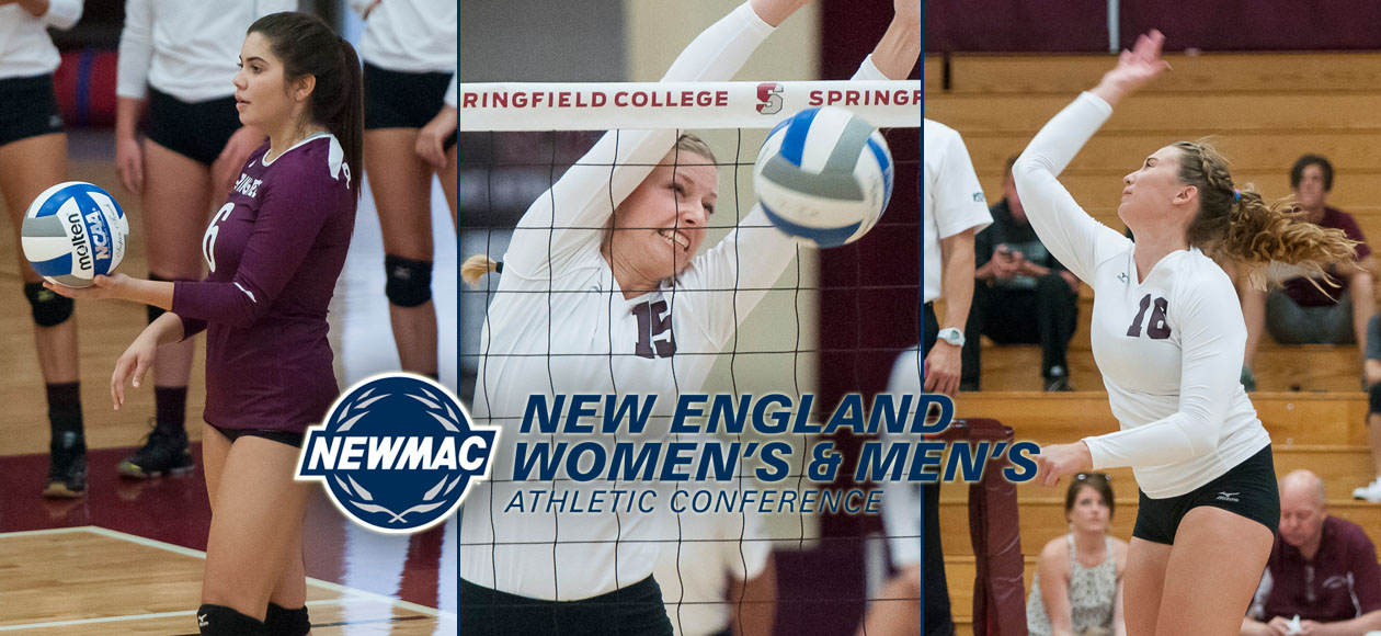 Holt Repeats as NEWMAC Athlete of the Year Highlights Women's Volleyball's Conference Honors