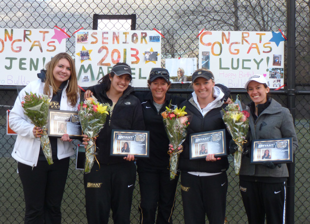Bulldogs split weekend, top Niagara 6-1 on Senior Day
