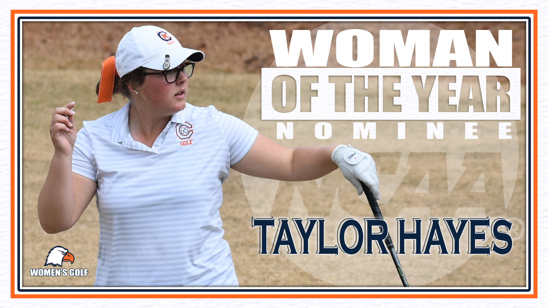 Hayes nominated for NCAA Woman of the Year