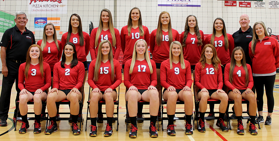 The Owens Volleyball team finishes the season as national runner up and with a 40-1 overall record for the season.