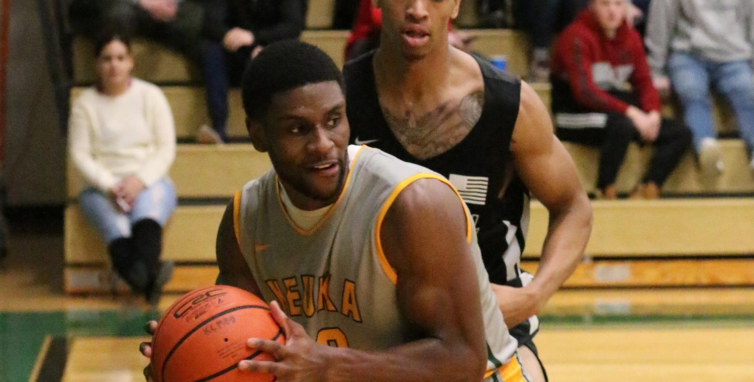 Trevor Powell (20) led the Wolves with 24 points and 18 rebounds -- Photo by Ed Webber