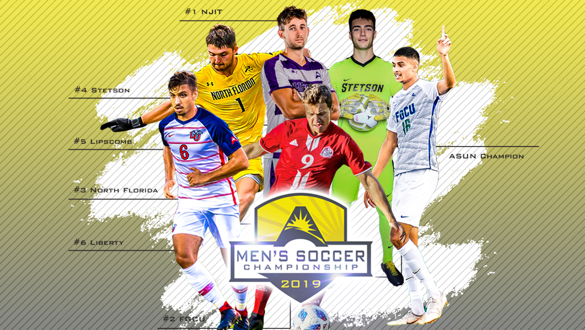 Men's @ASUNSoccer Championship Kicks Off Friday in Fort Myers & Newark