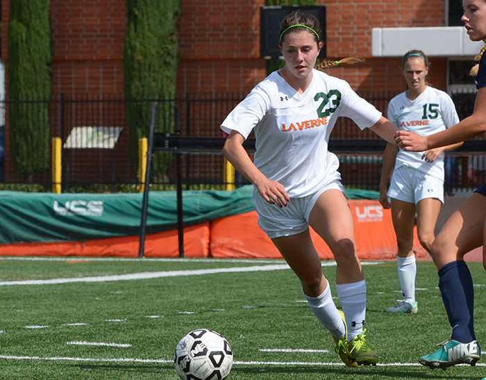 Women's Soccer falls at Occidental